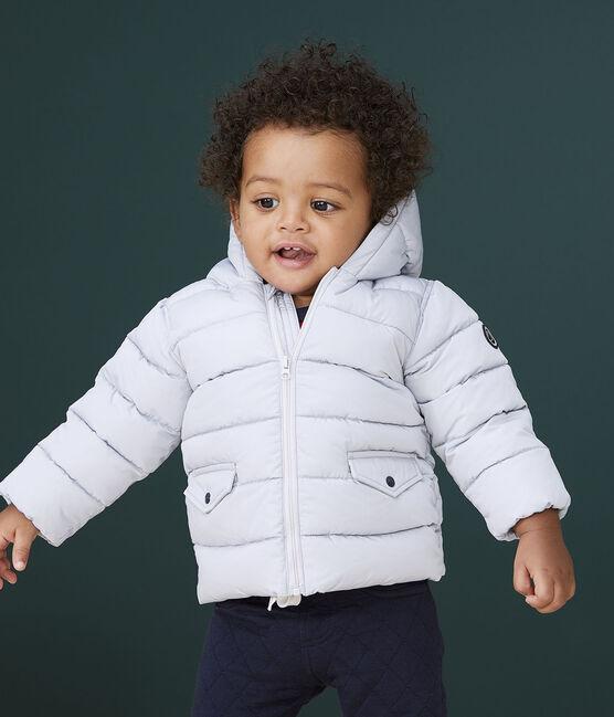 Piumino trapuntato bebè maschio GRIS CLAIR