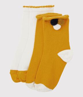 Confezione di calzini bambina lotto .