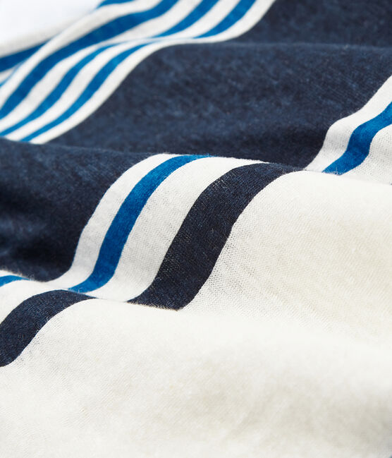 Canottiera donna in lino bianco Marshmallow / bianco Multico