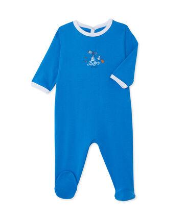 Tutina bebé unisex blu Delphinium