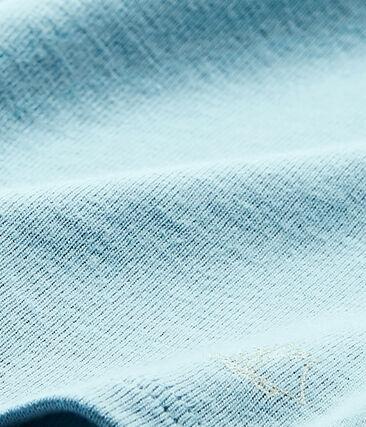 T-shirt bebé bambina blu Mimi