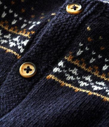 Tutina lunga tricot jaquard bebé maschio