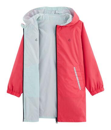 Giacchetta reversibile bambino unisex rosa Groseiller / blu Crystal