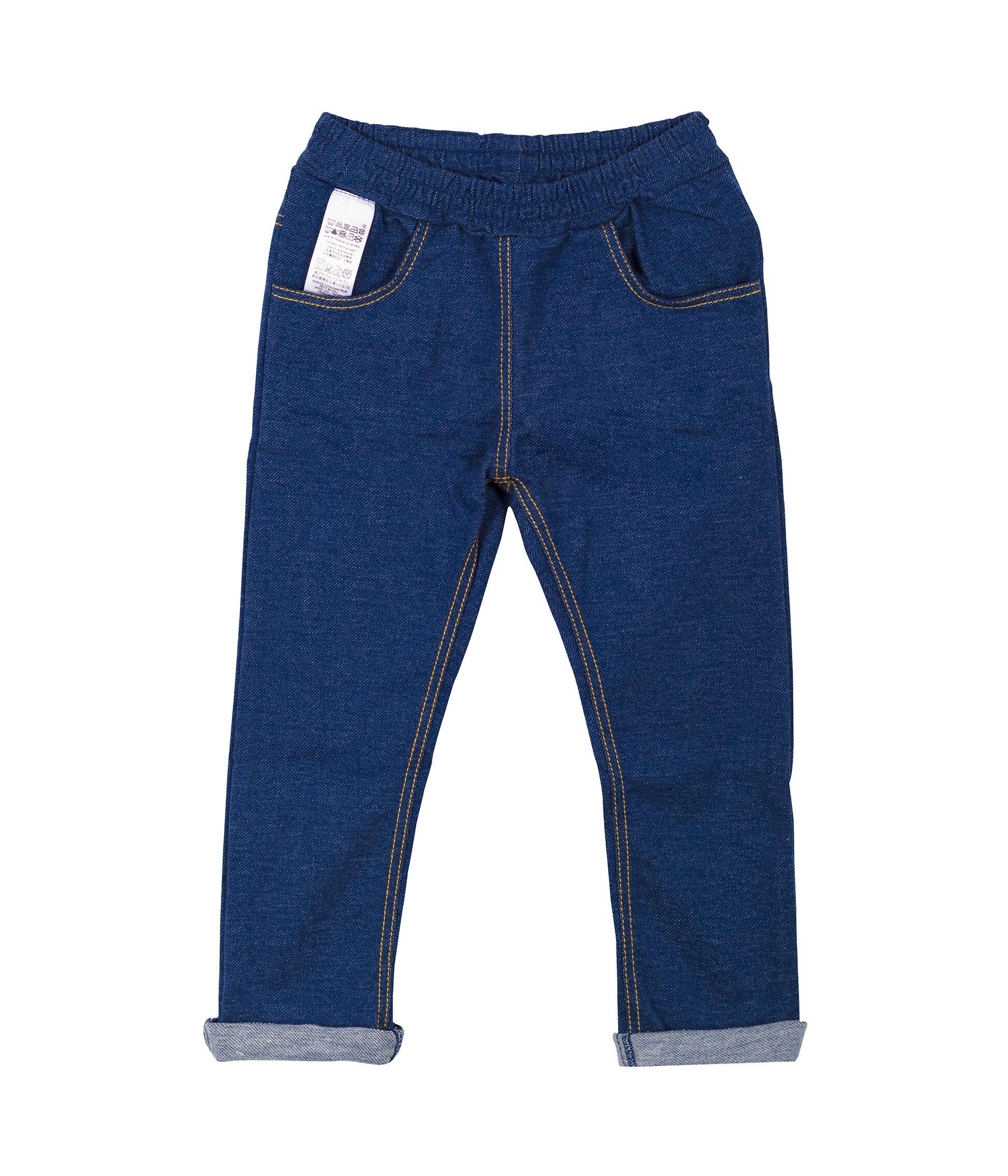 Petit Bateau Pantaloni Unisex-Bimbi