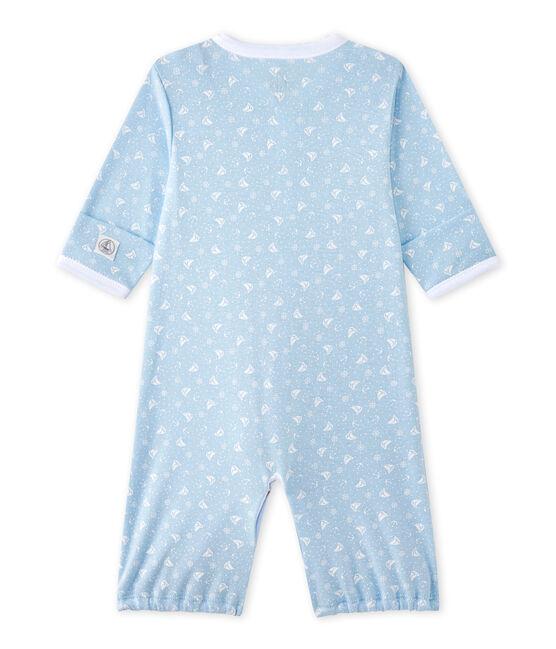 Combisac bebé unisex 2 in 1 blu Toudou / bianco Ecume