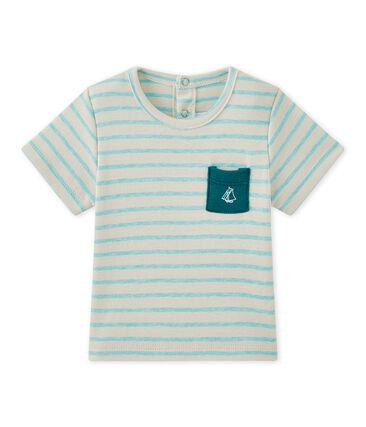T-shirt bebé bambino a maniche corte rigata