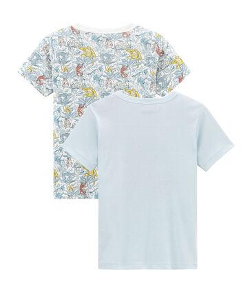 Due t-shirts bambino maniche corte lotto .