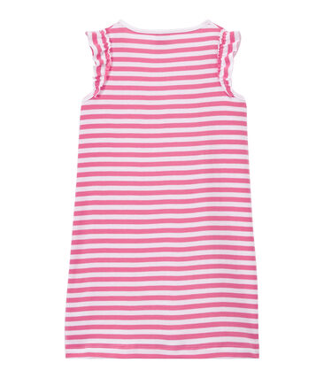 Camicia da notte bambina rigata