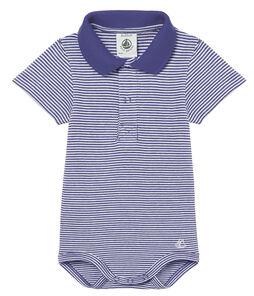 Body mc colletto polo neonato maschietto millerighe