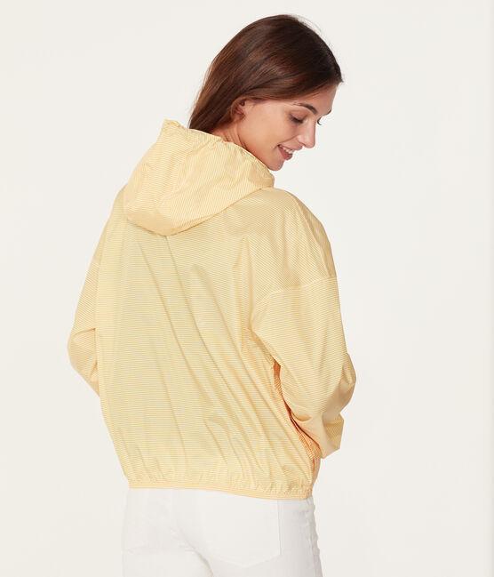 Giacchetta corto unisex giallo Honey / bianco Marshmallow