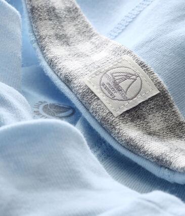Lotto di cappellino e scarpine bebé maschio blu Fraicheur