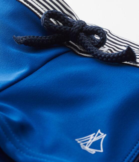 Costume da bagno bebè bambino tinta unita blu Riyadh