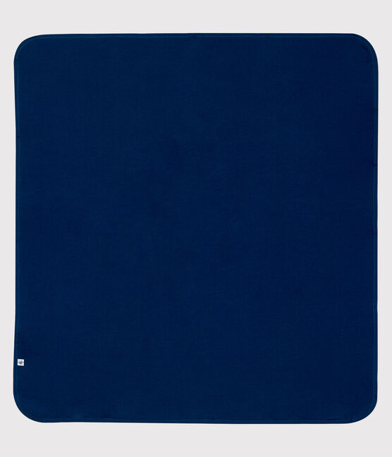 Protezione andi-onde elettromagnetiche in jersey double-face blu Smoking / bianco Ecume