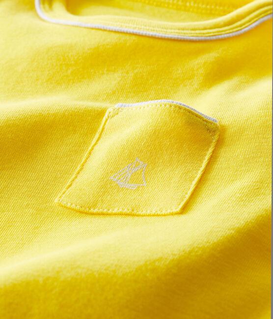 Tee shirt manches courtes bébé garçon giallo Shine