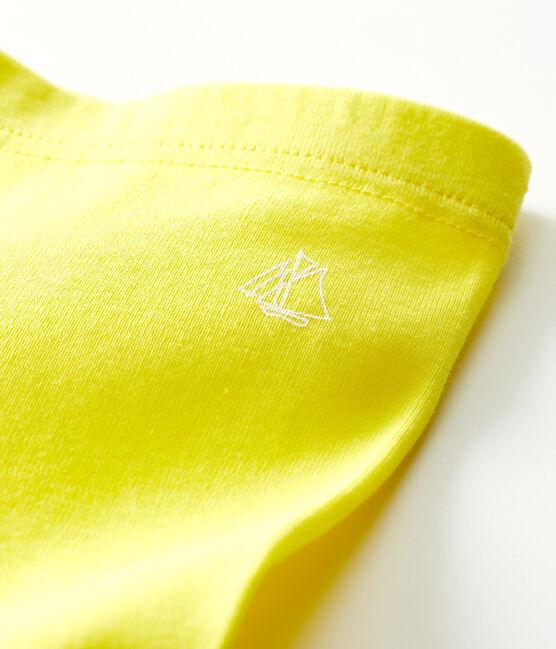Leggings bebè femmina giallo Eblouis