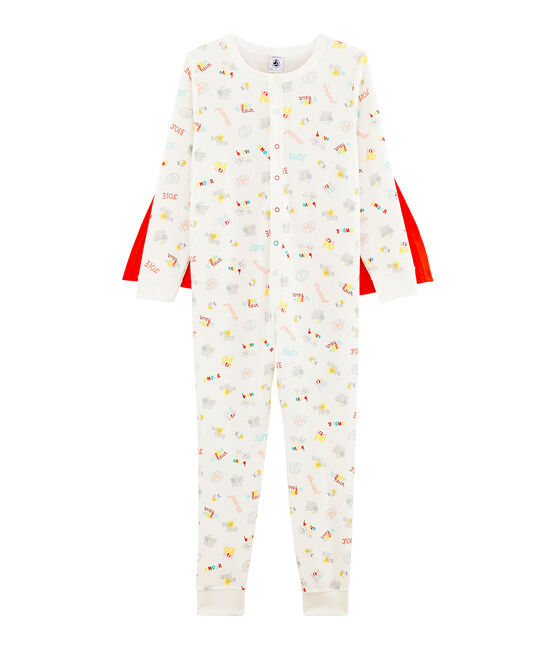 Tutina travestimento da bambino bianco Marshmallow / bianco Multico