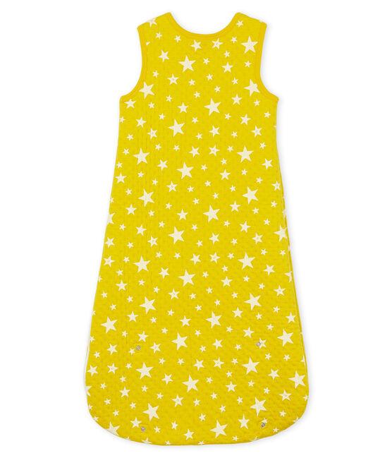Sacco nanna compatto bambino in tubique giallo Honey / bianco Marshmallow