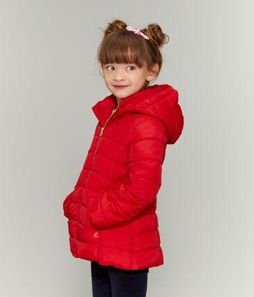 Piumino bambina rosso Terkuit