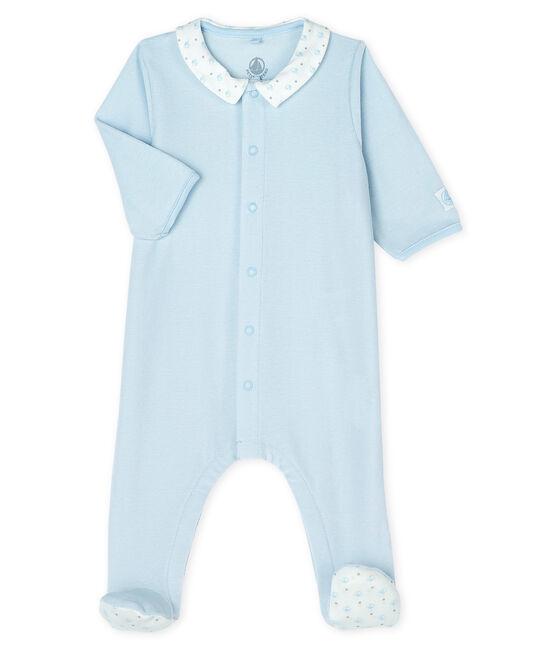 Tutina pigiama bebè maschio in ciniglia FRAICHEUR