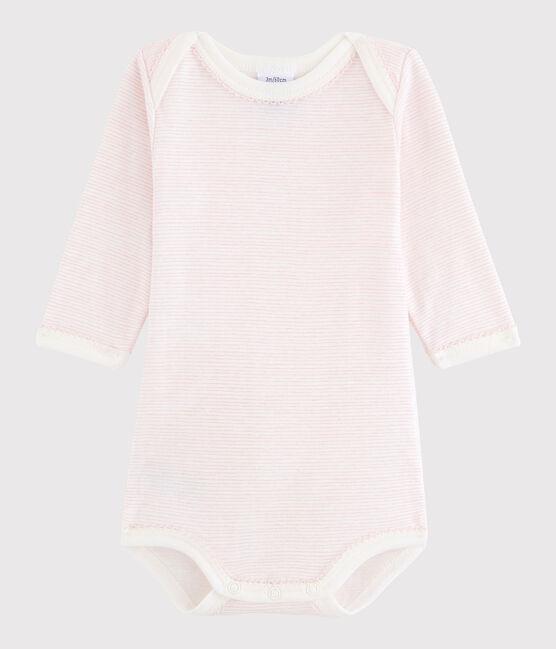 Body manica lunga bebè femmina LAIT/BABYLONE