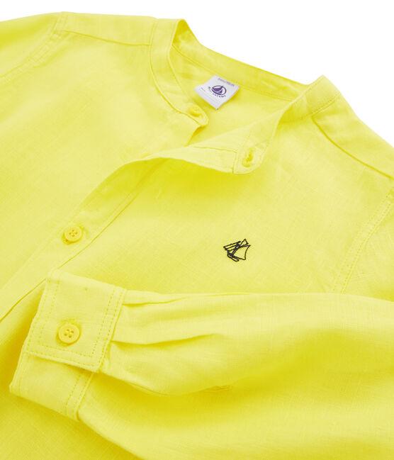Camicia bambino giallo Eblouis
