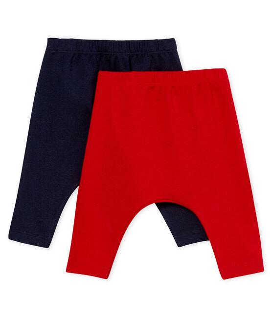 Confezione da 2 leggings bebè unisex lotto .