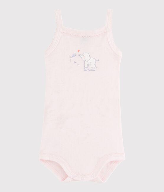 Body con spalline bebè femmina rosa Vienne