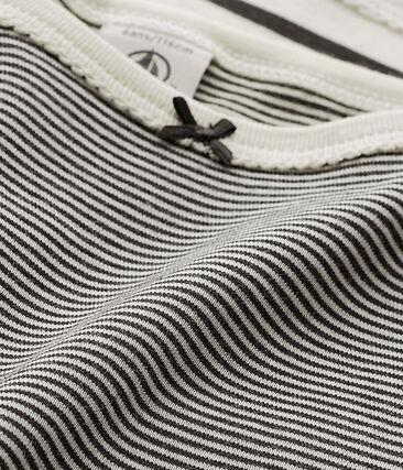 Lot de 2 de chemises à bretelles à rayures fille lotto .