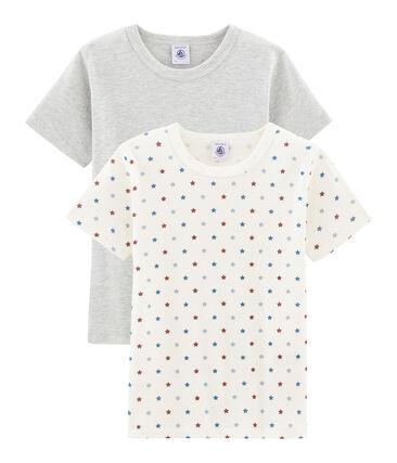 Due t-shirt bambino maniche lotto .