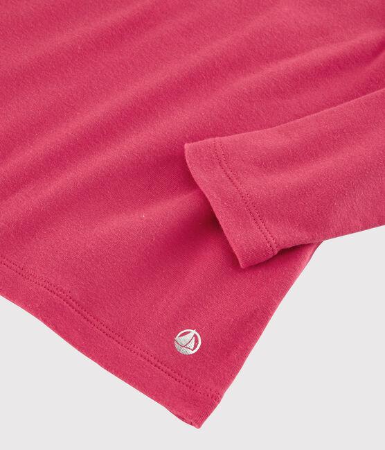 T-shirt maniche lunghe in cotone bambina POPPY