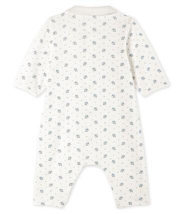 Tutina senza piedi a costine bebè