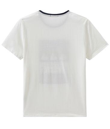 Tee-shirt MC unisex bianco Marshmallow