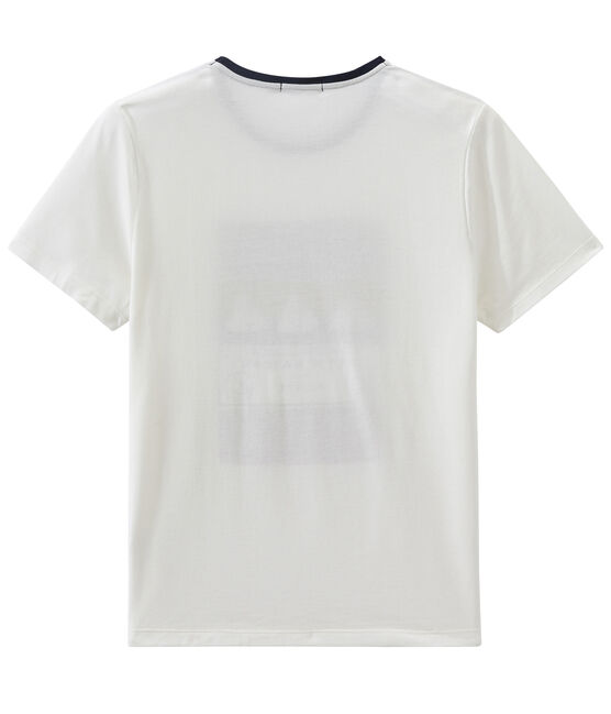 Tee-shirt MC unisex bianco Marshmallow