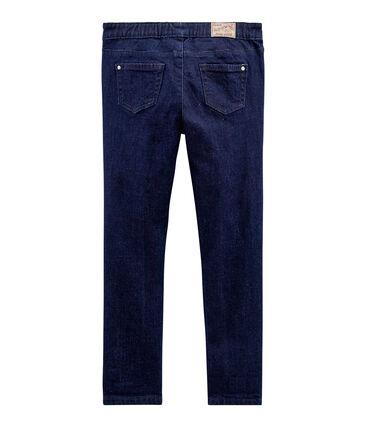 Pantalone in denim bambina