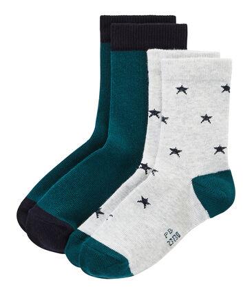 Confezione da 2 paia di calzini bambino
