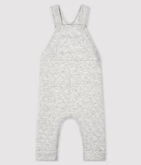 Salopette lunga bebè maschio grigio Beluga