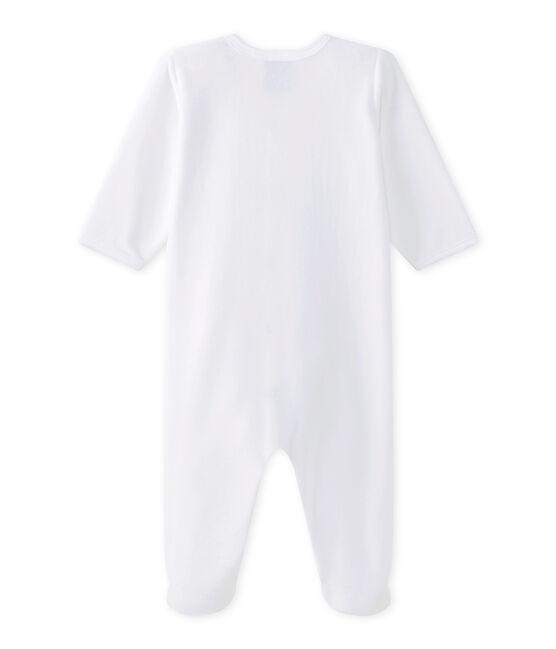 Tutina per bebé bianco Ecume