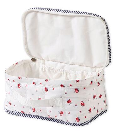 Trousse da bagno stampata bebé unisex bianco Marshmallow / bianco Multico