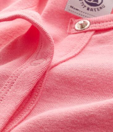 Cardigan per bebè femmina rosa Petal