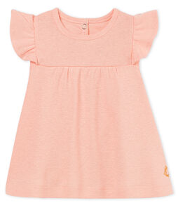 Blusa mc neonata in cotone/lino