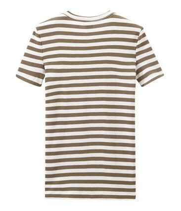 T-shirt donna in costina originale 1x1 rigata
