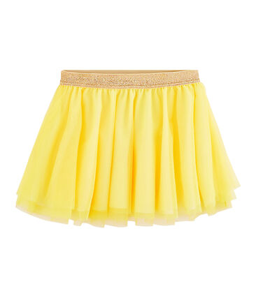 Gonna bambina giallo Eblouis