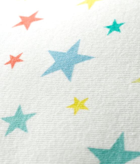Cuscino a costine bianco Marshmallow / bianco Multico