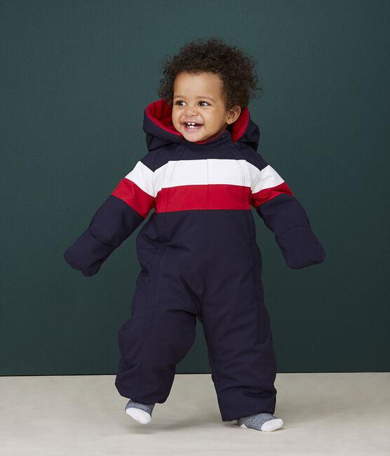 Tutina Grande freddo bebè maschio blu Smoking / bianco Multico