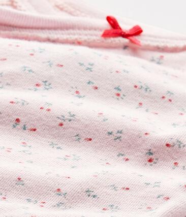 Body nascita per bebé femmina a maniche lunghe stampato