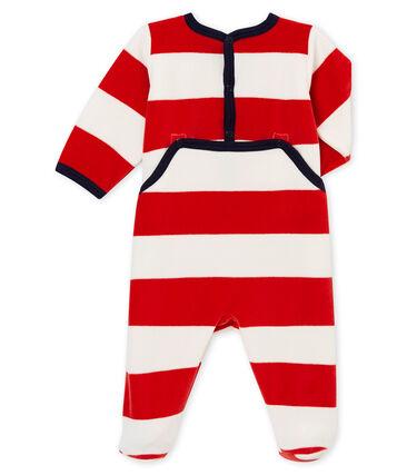 Tutina per bebé maschio rosso Terkuit / bianco Marshmallow