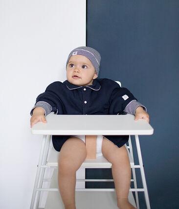 Mantella bebè unisex blu Smoking