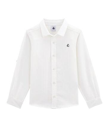 Camicia in lino/cotone bambino
