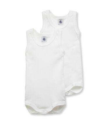 Duo body senza maniche bebè maschio