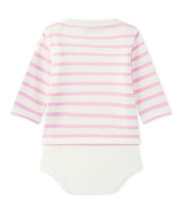 Body marinière per bebè a maniche lunghe